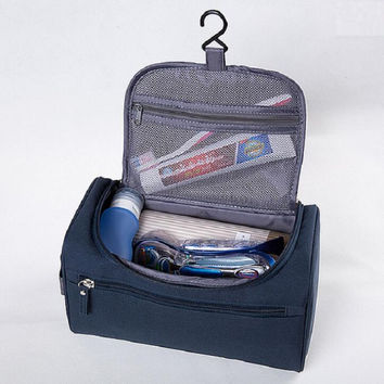 Travel Organizer Accessory Toiletry Cosmetics Medicine MakeUp Shaving Travel Kit Bag