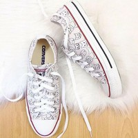The Cat's Meow Converse Low Top