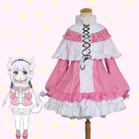 Anime Kobayashi san Chi no Maid Dragon Cosplay Costumes Miss Kobayashi's Dragon Maid Kanna Kamui Cosplay Costumes