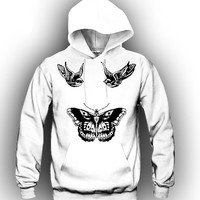 Harry Styles Tattoo Unisex Hooded Sweatshirt Funny and Music