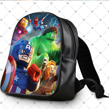 Lego The Avengers School Bag