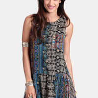 Wild At Heart Drop Waist Dress