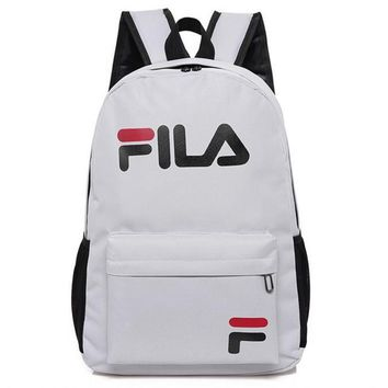 FILA College wind sports outdoor leisure bag computer bag travel bag Shoulder Backpack-1