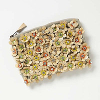 Anthropologie - Flowerbed Clutch