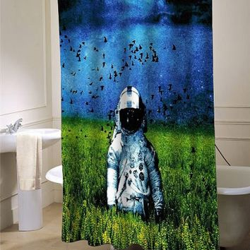 deja entendu shower curtain - myshowercurtains