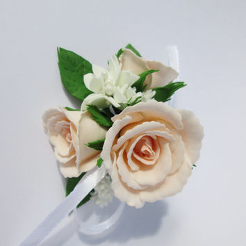 Garden Rose Boutonniere shop rose boutonniere on wanelo