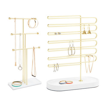 So into this design on Fab! Jewelry Stand & Earring Tree Set #FabForAll