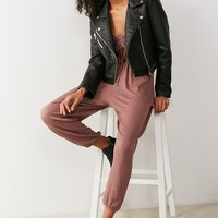 Out From Under Elsie Cinched Cutout Jumpsuit   Urban Outfitters