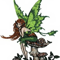 Amy Brown Iron-On Patch Thinking Of You Fairy