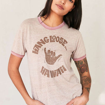 Vintage Hang Loose Tee - Urban Outfitters