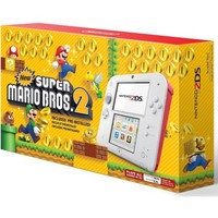 Nintendo 2DS - Scarlet Red w/New Super Mario Bros. 2 Bundle - Walmart.com