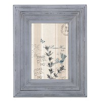 Home Accents Picture Frame / Photo Frame 4 x 6 Distressed White