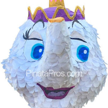 Mrs. Potts from Beauty and the Beast Piñata