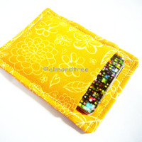 yellow flowers, slim card wallet, back to school card holder, credit card case, id1360933 portefeuille, women id wallet
