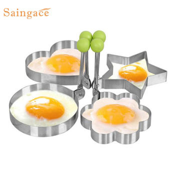 Stainless Steel Fried Egg Shaper Pancake Mould Mold Kitchen Cooking Tools  46UY