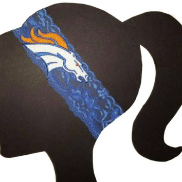 Broncos Lace Headband