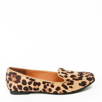 Belin Leopard Loafers $23