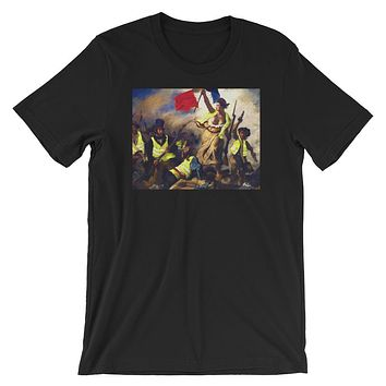 Liberty Leading the People Yellow Vest Revolution T-Shirt