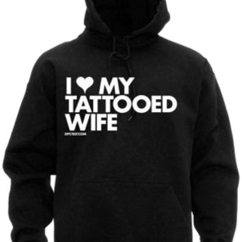 Men's I Heart My Tattooed Wife Sweatshirt