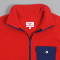battenwear - warm up fleece red