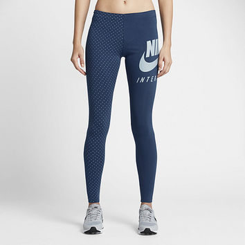 The Nike International Women's Graphic Leggings.