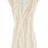 AEO Women's Mixed Lace S