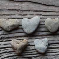 Beach Hearts Sock Hearts Pebble Hearts