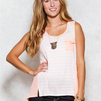 Mine Criss-Cross Back Tank