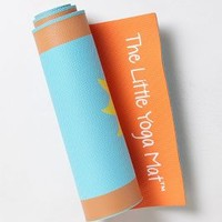 The Little Yoga Mat by Anthropologie in Blue Motif Size: One Size House & Home
