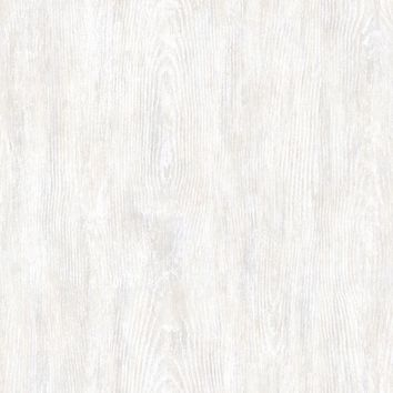 Brewster Wallpaper PUR113116 Priscilla Grey Faux Wood