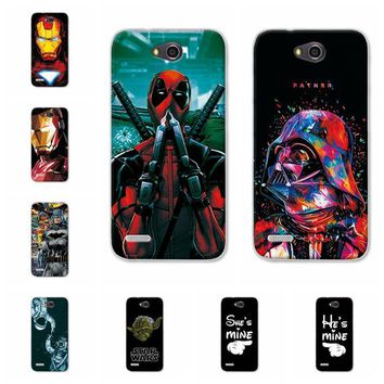 "Deadpool Dead pool Taco Charming  Spiderman Case Coque For LG X power 2 M320 M320N Soft Silicone Cases Fundas For LG X power2 Cover Capa 5.5"" AT_70_6"