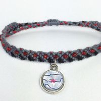Winter soldier inspired Friendship Bracelets- Bucky Barnes, captain america, Civil  war