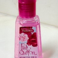 Bath and Body Works Pink Chiffon Anti-bacterial Pocketbac Sanitizing Hand Gel