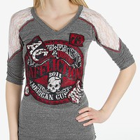 Affliction American Customs Live Fast Seal T-Shirt