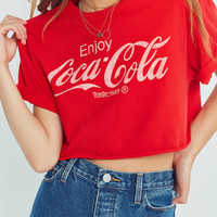 Junk Food Coca-Cola Cropped Tee | Urban Outfitters