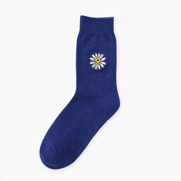 Flower Icon Sock