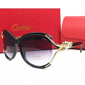 Cartier Women Fashion Popular Summer Sun Shades Eyeglasses Glasses Sunglasses
