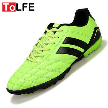 Size 33-44 TF Men Soccer Shoes Football Boots Adults Boy Kid Hard Count Trainers Sports Sneakers Shoes Indoor Soccer Shoes Men