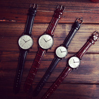 Retro Leather Watch Gift