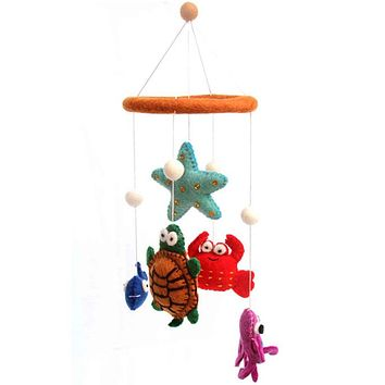Under the Sea Felt Mobile - Fair Trade