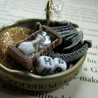 Harry Potter Dragon Bottlecap Necklace by ellacuz on Etsy