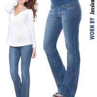 Classic Wash Bootcut Maternity Jeans