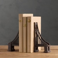 Golden Gate Bridge Bookends | Hobbies & Interests | Restoration Hardware