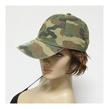 Generic Vintage Military Hunting Camo Plain Golf Baseball Caps Camouflage Hat Unisex 1pc Woodland Camo