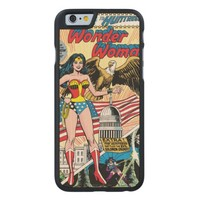 Wonder Woman Issue #272 Carved® Maple iPhone 6 Slim Case