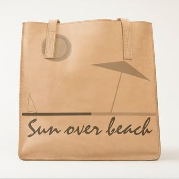Sun Over Beach UBUNTU Collection Tote