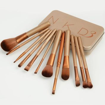 Professional nake 3 nake 4 mc makeup brushes tools set NK3 NK4 hand to Make up Brush kit for eye shadow palette Cosmetic Brushes