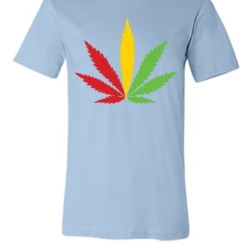 MARIJUANA JAMAICAN COLOR - Unisex T-shirt