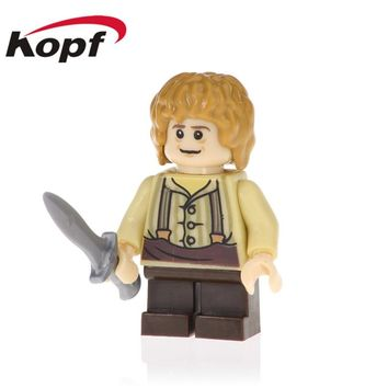 20Pcs Series Lord of the Rings Legoning Balin Thorin Oakenshield Bricks Bilbo Baggins Best Building Blocks Kids Toy Gift PG531