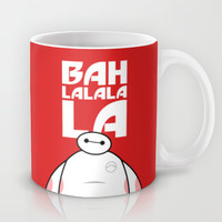 Big Hero 6 Six - Baymax Ba la la la la Mug by Snarky Shark